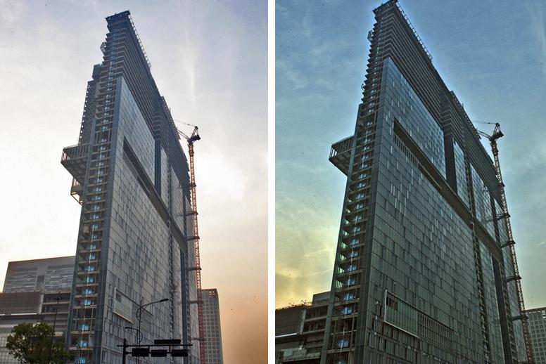In pictures: Skinny building in Hangzhou city