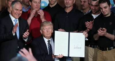 Trump's order to reverse Obama-era climate policies draws mixed reaction