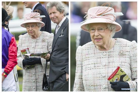 Gun salutes mark 91st birthday of British Queen