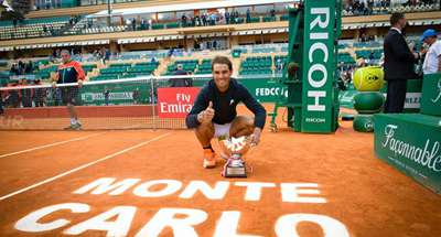 Nadal claims 10th Monte-Carlo Masters title past compatriot Ramos-Vinolas