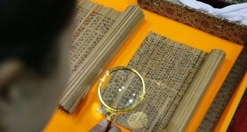 Chinese bamboo slips hold world's earliest decimal calculator
