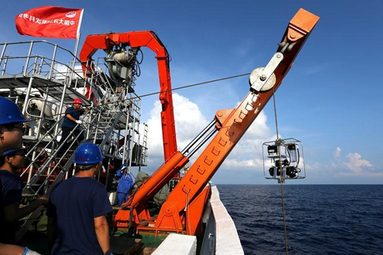 Jiaolong to conduct 1st South China Sea dive this year