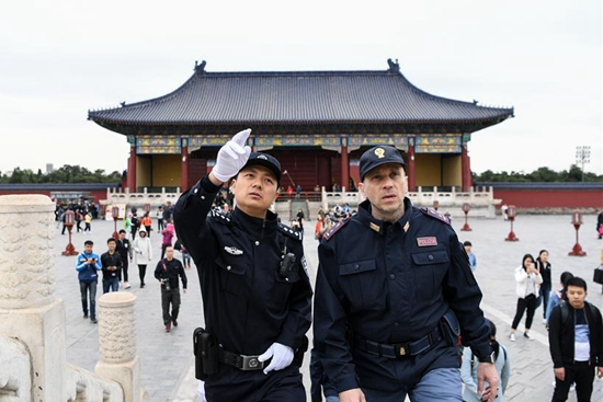 Italian, Chinese police start 2-week joint patrol in China