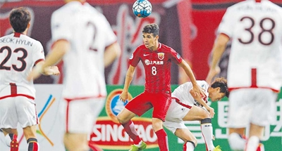 Hulk powers SIPG into ACL last 16