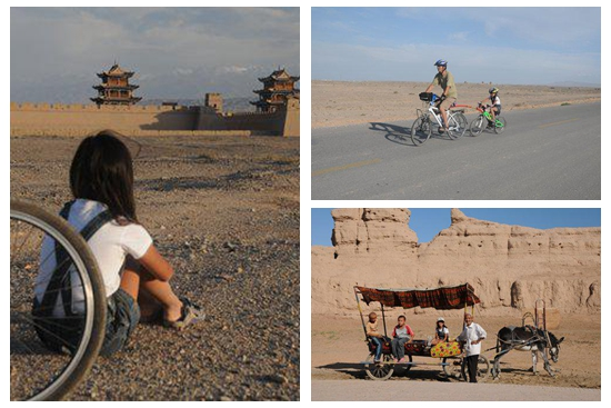 Young Chinese girl shares her tale of cycling along the ancient Silk Road at age 6 in newly released book
