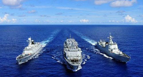 Chinese navy ships visit Philippines for first time in seven years