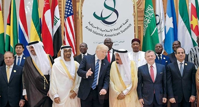 Trump renews courtship of Arab allies