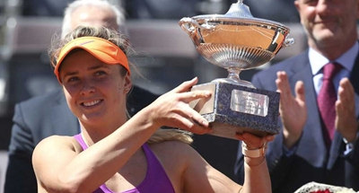 Slick Svitolina surges with Italian Open title