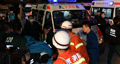 4 of 11 trapped miners recused after north China colliery flooding