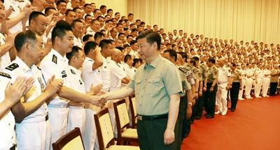 Xi calls for