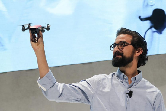 """DJI announces its first palm-sized drone """"Spark"""" in New York"""