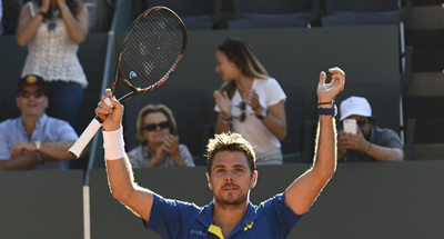 Men's semifinal at Geneva Open ATP 250 Tennis tournament