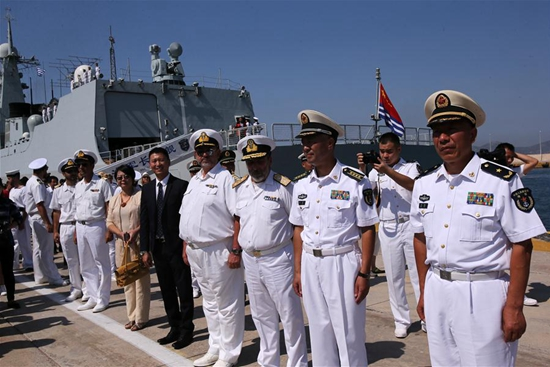 Chinese naval fleet arrives in Greece for friendly visit