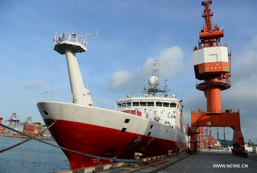 China's research vessel