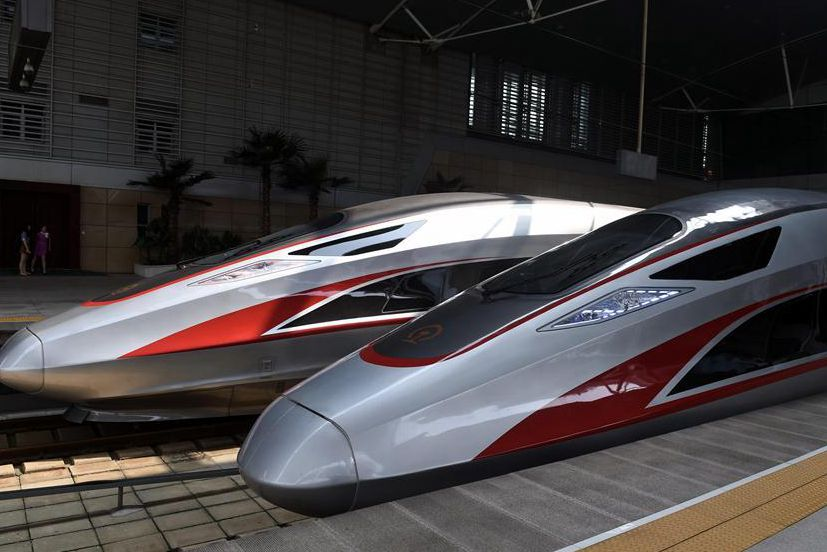 China's new-generation bullet trains put into operation on Beijing-Tianjin Intercity Railway