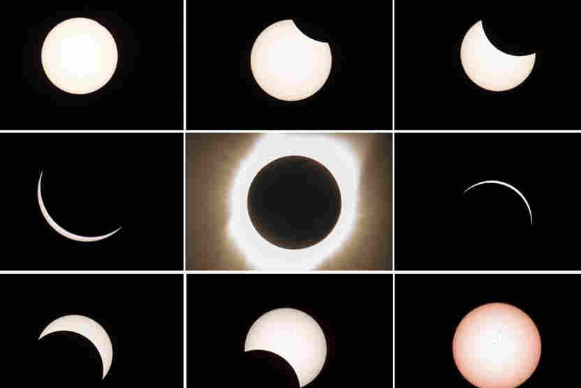 Once-in-a-century total solar eclipse sweeps across U.S.