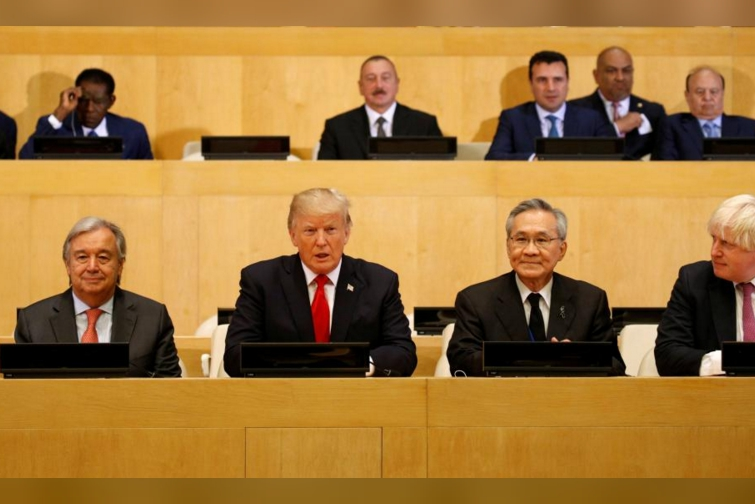 In first visit, Trump urges reform so U.N. can meet full potential