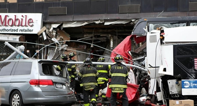 3 dead, more than a dozen injured after buses collide in New York