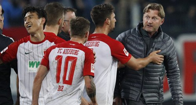 German FA investigates Baier for obscene gesture to RB Leipzig coach