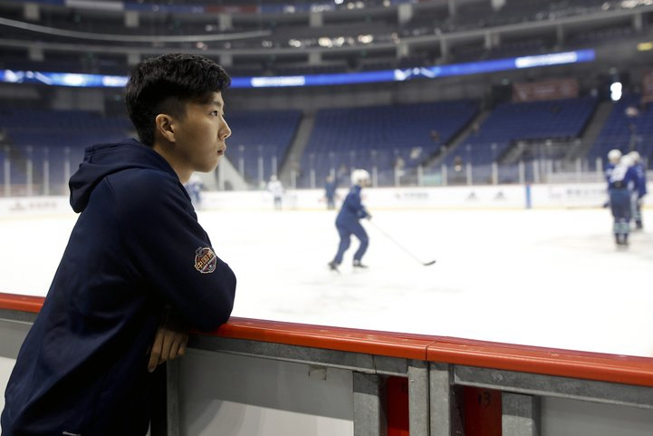 NHL hoping to make inroads in China with preseason games