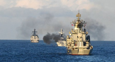 Chinese, Russian navies hold joint exercises in Okhotsk Sea for first time
