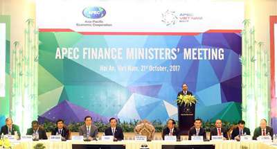 APEC finance ministers committed to sustainable, inclusive growth