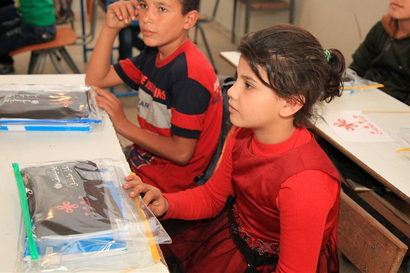 China provides educational supplies to 86,000 Syrian refugees in Lebanon