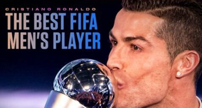 Ronaldo wins FIFA Men's Player of the Year award