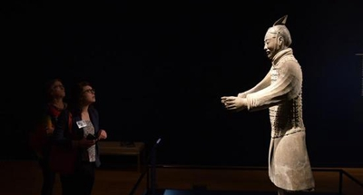 China's Terracotta Warriors march into Virginia, wow museum-goers