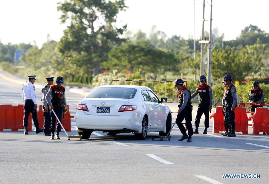 Security beefed up for 13th ASEM Foreign Ministers' Meeting in Myanmar