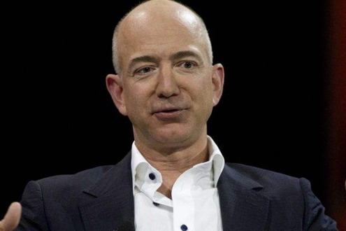 Amazon founder Bezos becomes the richest man in modern history