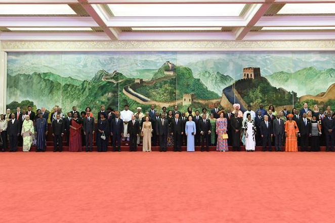 Xi hosts banquet for leaders attending FOCAC summit