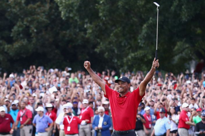 Tiger Woods completes monumental comeback from injury to win Tour Championship
