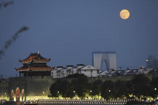 Full moon seen across China on Mid-Autumn Festival