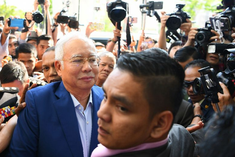 Malaysia ex-PM Najib quizzed by graft agency over corruption scandal