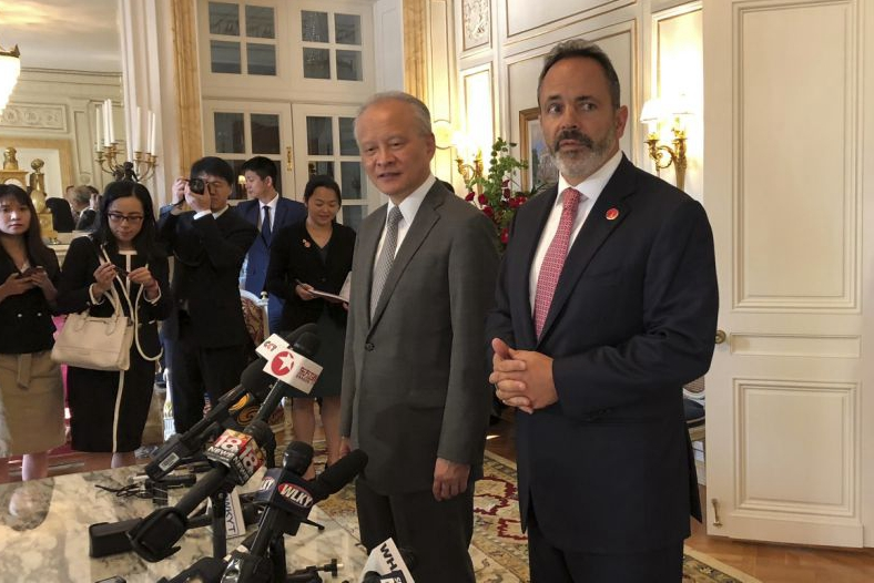 Kentucky governor promotes Chinese partnership amid US trade dispute
