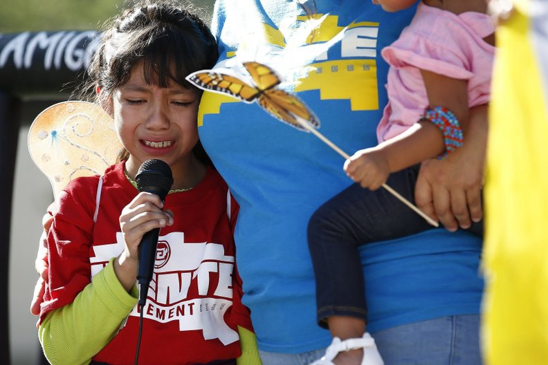 Youngest migrants held in 'tender age' shelters at US-Mexico border