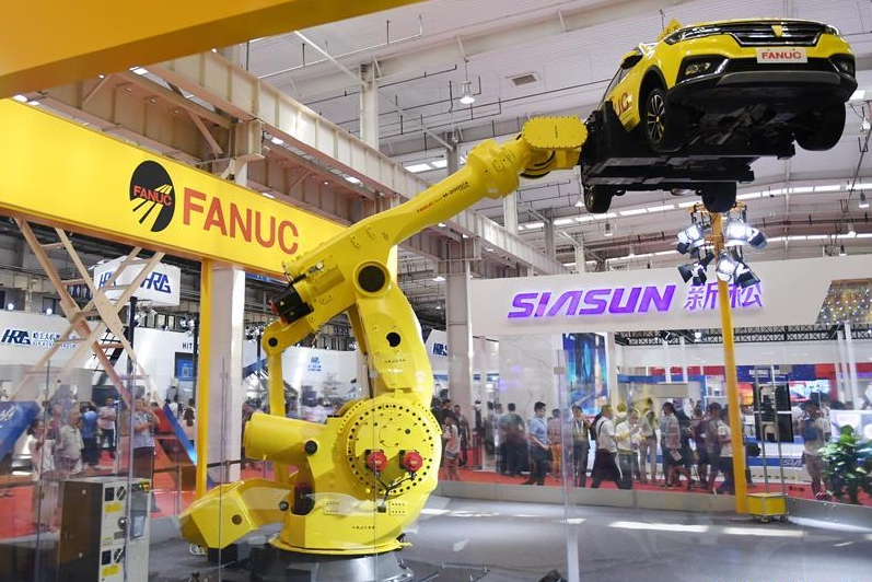 World Robot Conference 2018 kicks off in Beijing