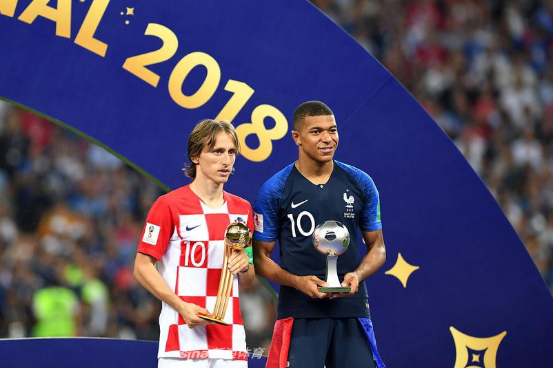 2018 World Cup awards: Modric wins Golden Ball; Mbappe named best young player