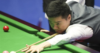 Former world No. 1 Ding leads Xiao at snooker worlds