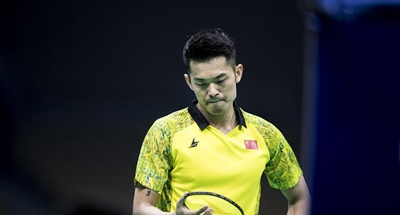 China's Lin Dan suffers early exit at Badminton Asia Championships