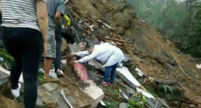 Landslide kills 5 in SW China