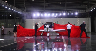 China's first airplane developed by private firm completes production