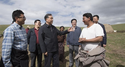 Senior CPC official stresses ethnic, religious work in Tibetan areas