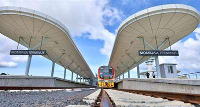 Kenya's SGR train attains occupancy rate of over 95 percent