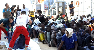 5 migrants drown, 191 rescued off western Libyan coast