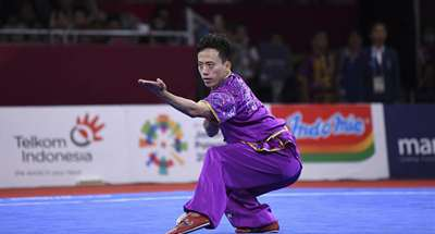 China's Sun wins first gold medal of 2018 Asian Games