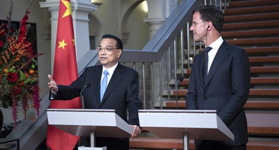 China, Netherlands call for free trade against protectionism