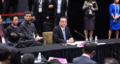 Chinese premier urges upgrading China-ASEAN strategic partnership