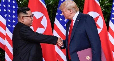 Trump says U.S. in no hurry to talk with DPRK